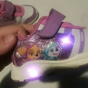 Light-Up Paw Patrol Toddler Shoes!!!!!